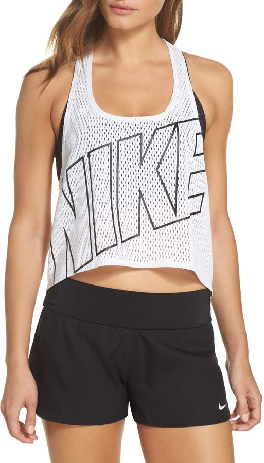 0d11c34a94b097 Nike Mesh Crop Top Cover-Up