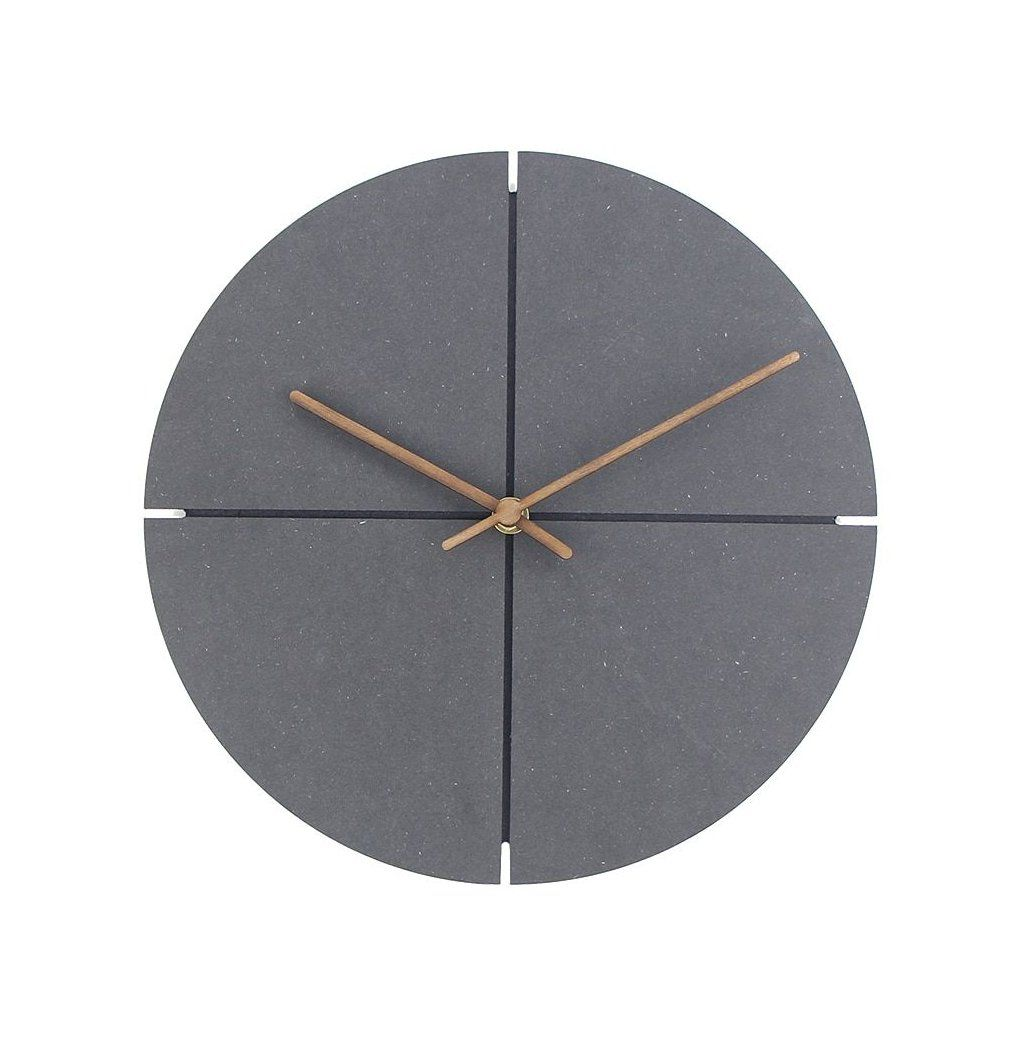 12 Inch Wood Wall Clock Simple Modern Nordic Minimalist Clocks Artistic European Brief Wooden Wall Watch Ho In 2020 Wall Clock Simple Minimalist Clocks Wood Wall Clock