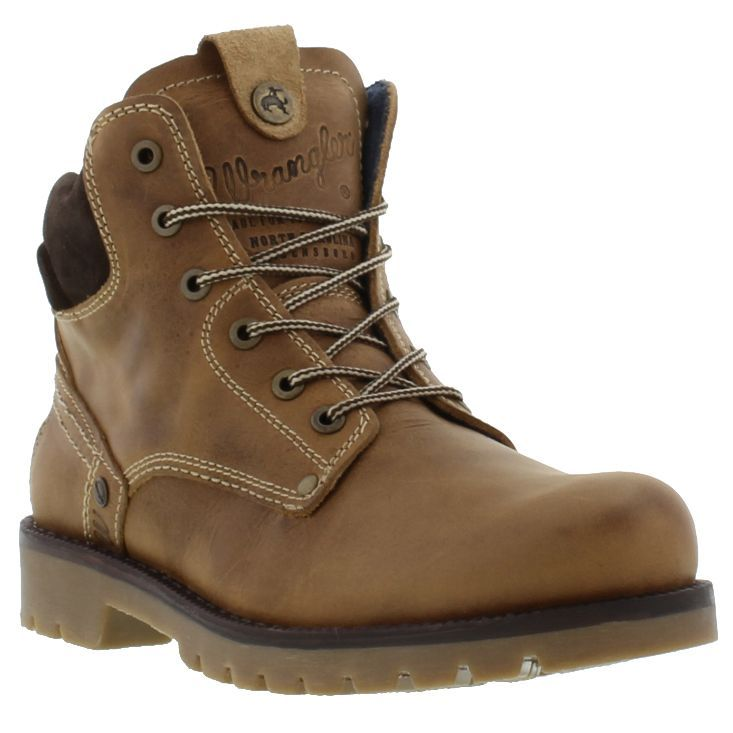 Wrangler Boots, Shoes, Mens Newton Boot Light Brown - £64.99
