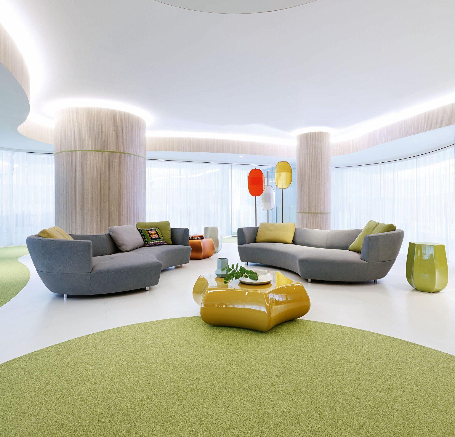 Gran sofá 3 plazas redondeado, terminal a la derecha DIGITAL | ( we ...