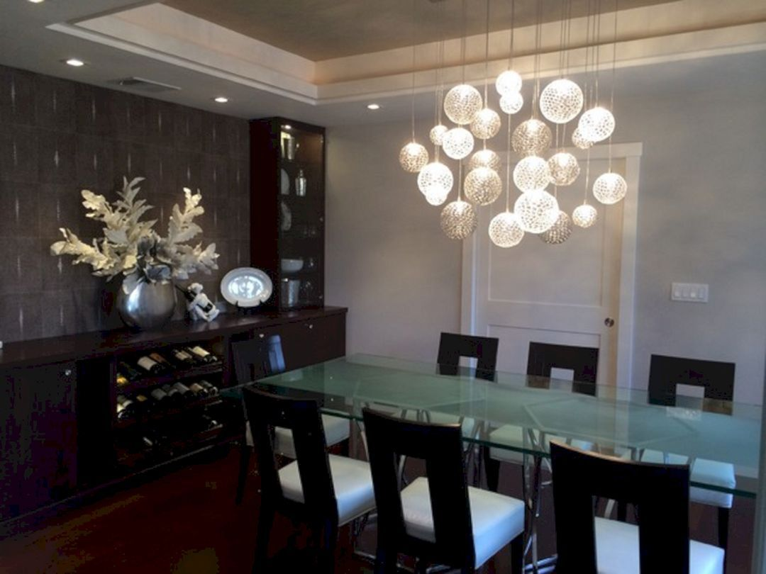 21 Modern Dining Room Ceiling Lights You Need To Try Freshouz Com Dining Room Chandelier Dining Room Ceiling Lights Contemporary Dining Room Lighting