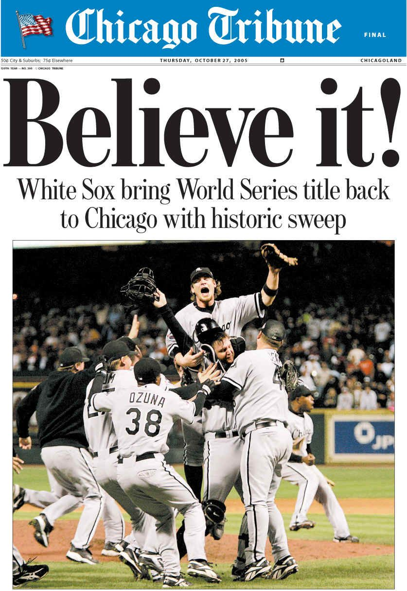Better believe it... | Chicago white sox, White sock, White sox world series