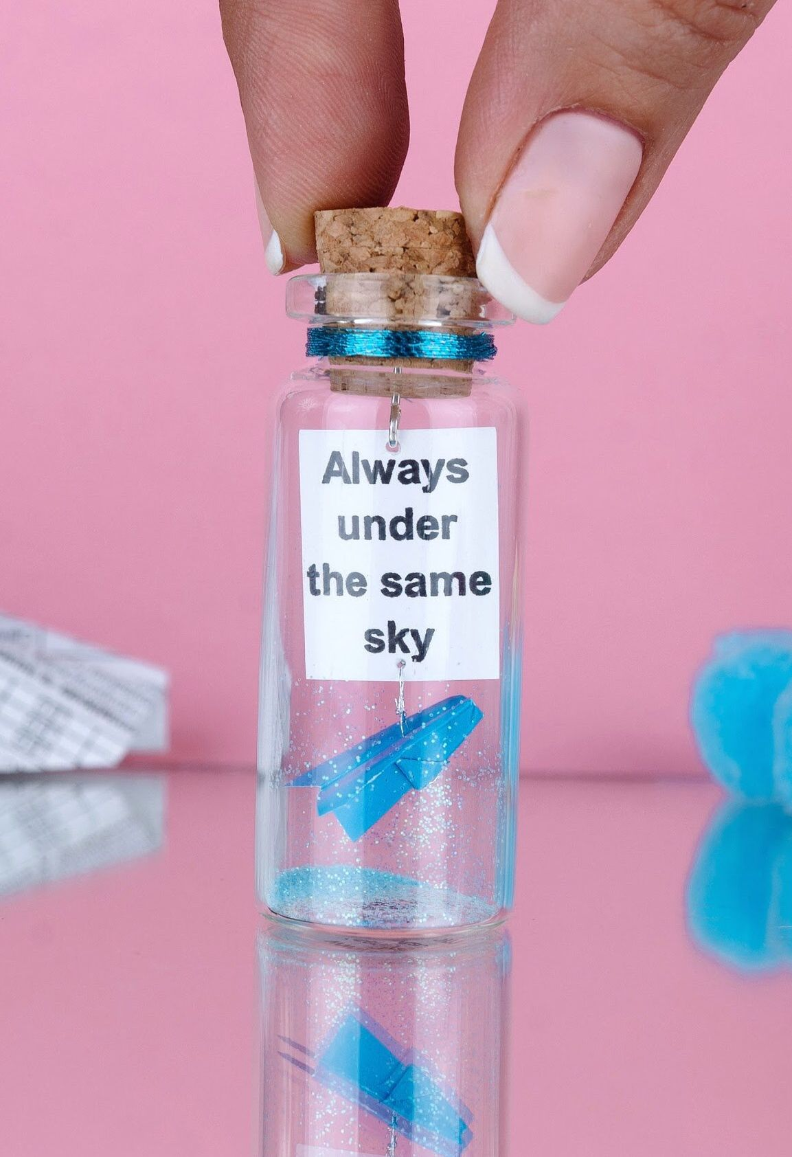Long Distance Relationship Gift Message In A Bottle Gift For