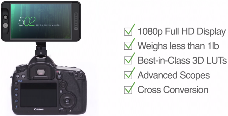 SmallHD 502 5 Inch 1080p Monitor