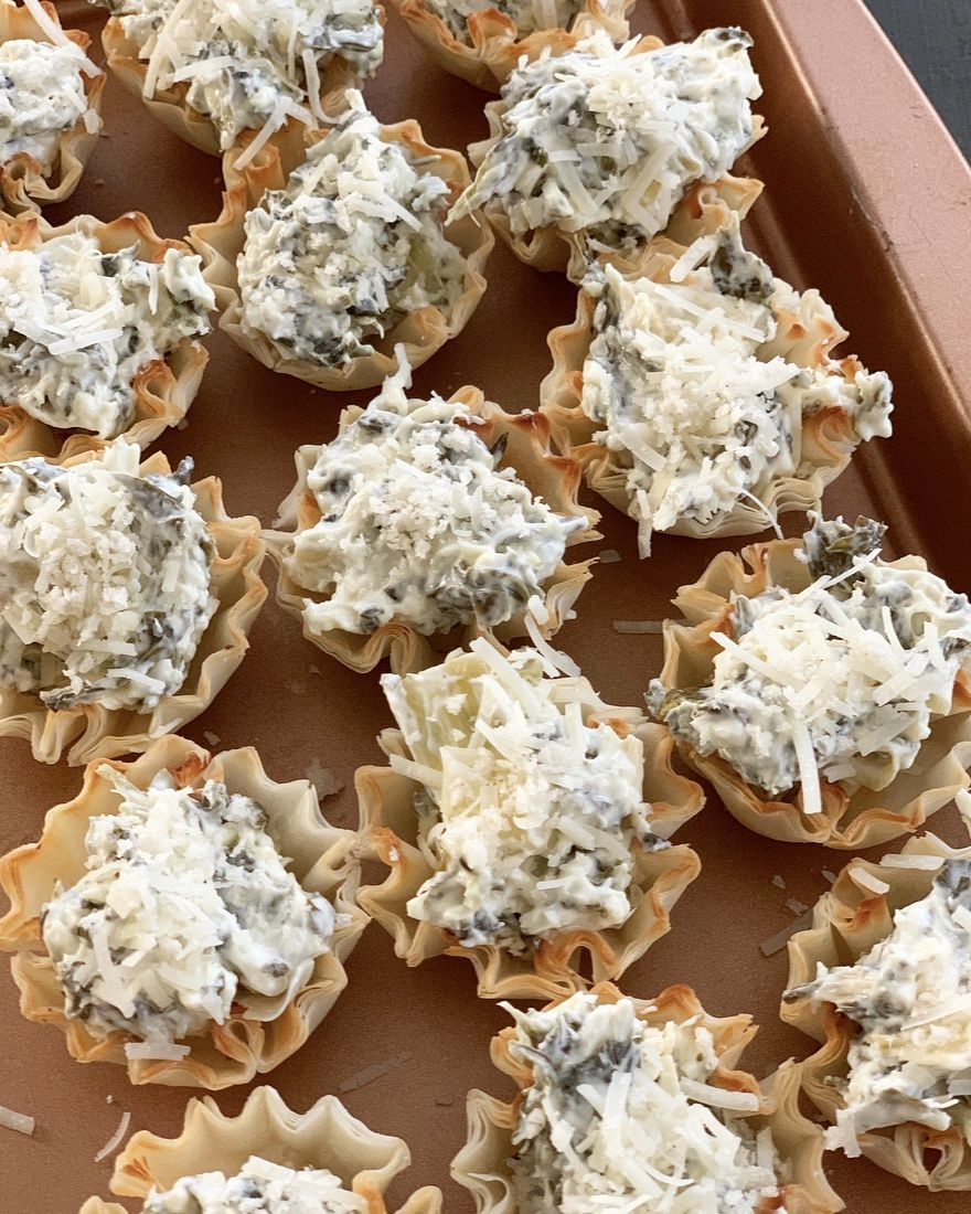 3 Easy Appetizers Using Phyllo Cups - Crisp Collective