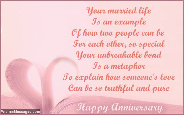 Gift Ideas For Silver Wedding Anniversary For Friends : ... Can be so truthful and pure Happy anniversary via WishesMessages.com