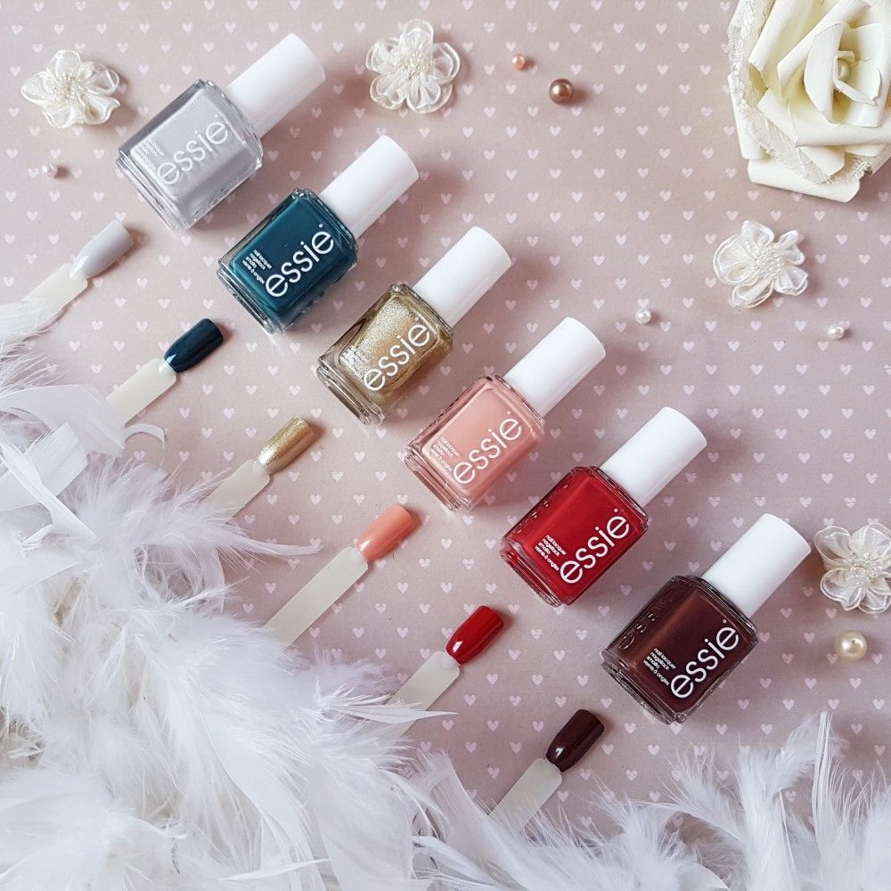essie Winter 2017 Collection- Review and Swatches | Essie polish ...