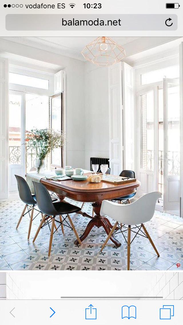 Pour le plancher et aussi la combinaison de la table for Mobili design scontati