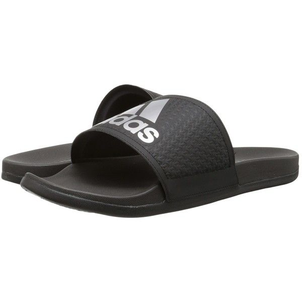 Adidas Shoes Adidas Adilette Supercloud Plus Mens Sandals Black/Silver