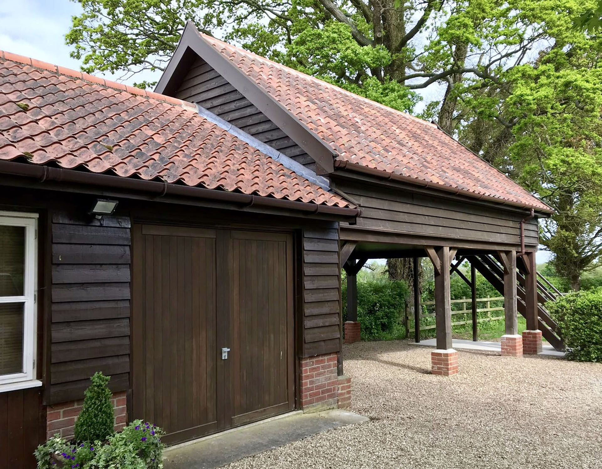Cartlodges Roger Gladwell Timber Frame Construction in
