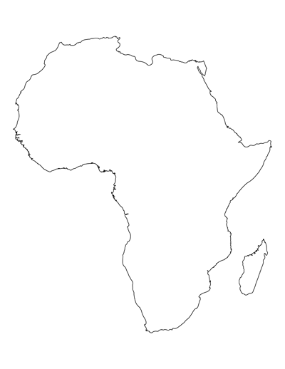 blank map of africa   #DRAW #ZENTANGLE #TANGLE #DOODLE #TEMPLATE