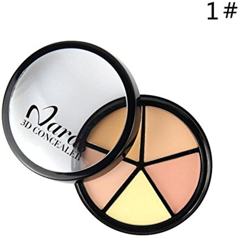 Ownsig Professional 5 Colors Face Cream Concealer Contour