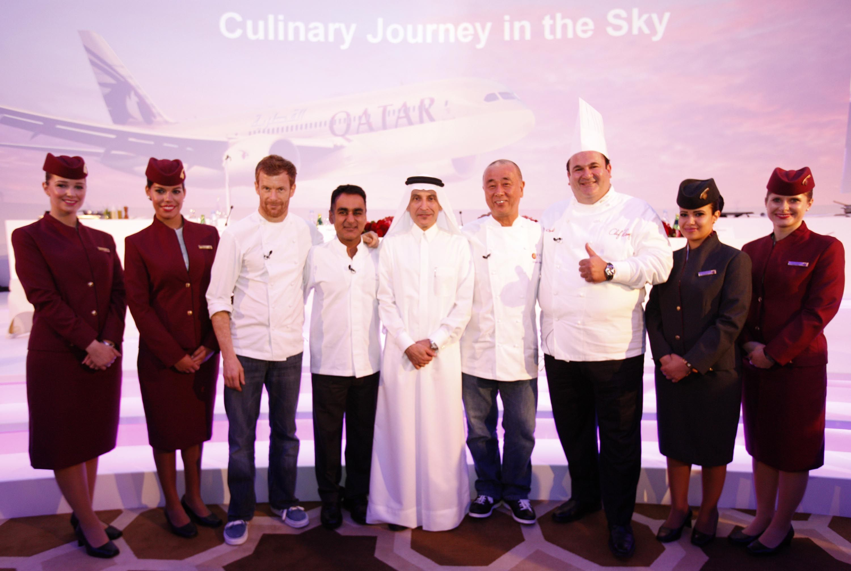 Qatar Airways Introduces World Renowned Chefs To Award Winning Five Star Service Qatar Airways Qatar Qatar Doha