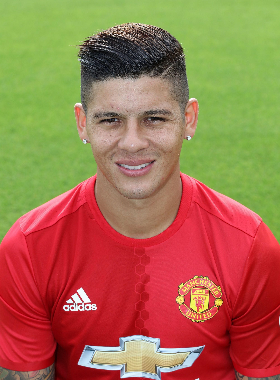 Marcos Rojo - Official Manchester United Website | MU | Pinterest
