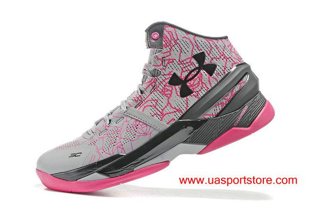the latest e6673 34795 UA Curry Two Mother s Day Tropic Pink Grey Basketball Shoes For Men