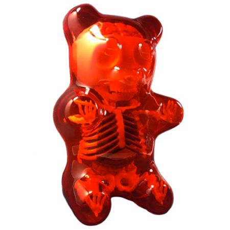 Gummi Bear Anatomy Red This Exciting Scientifically Accurate Model Of Gummi Bear S Insides Will Enlighten And Brighten Anyone Gummies Gummy Bears Inked Shop