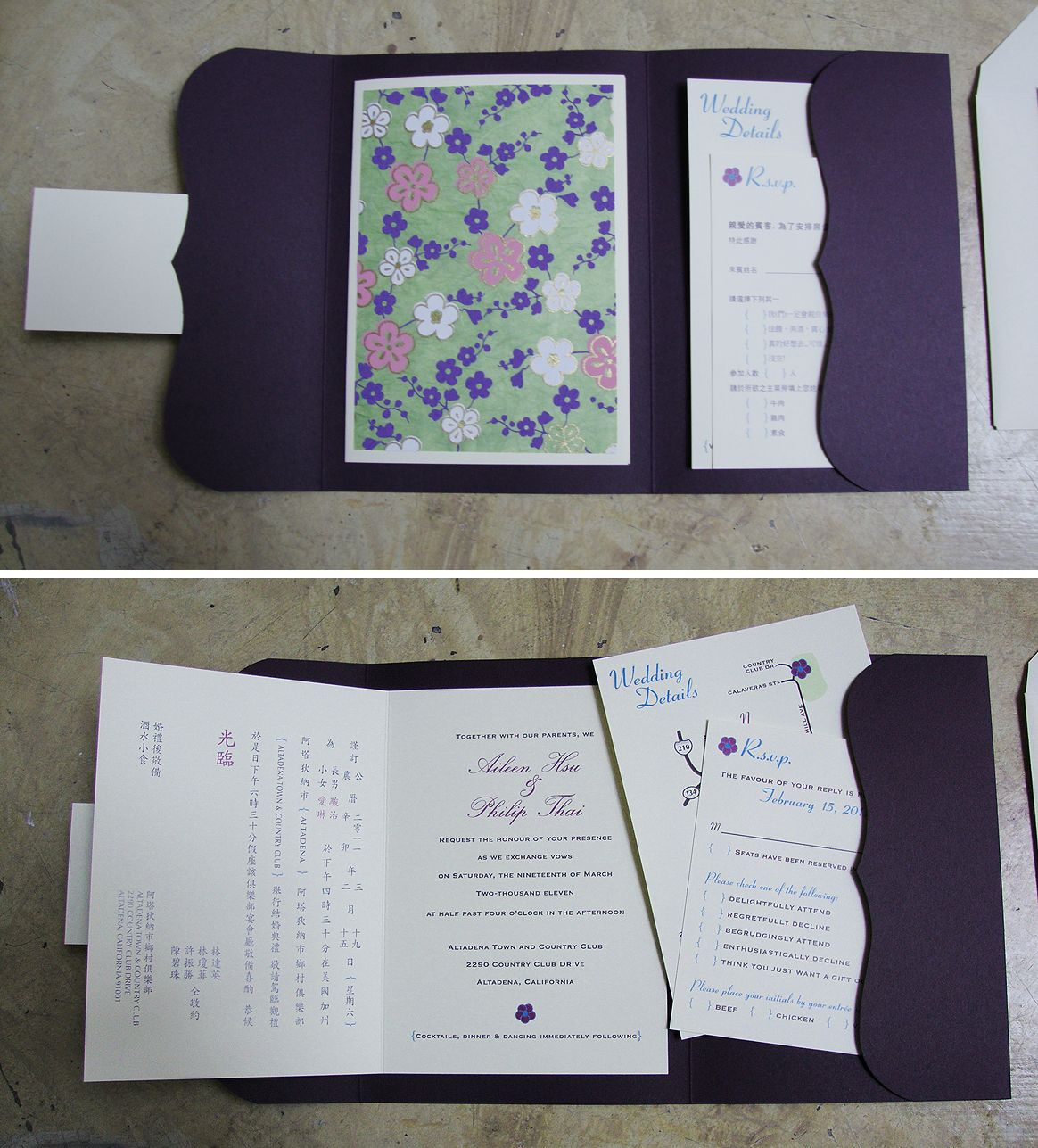pocket folder idea to hold invite, rsvp, info card together great, Powerpoint templates