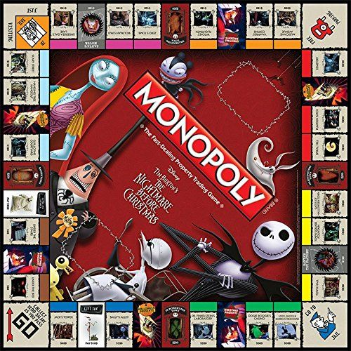 Christmas Monopoly Limited Edition