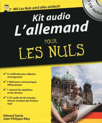 L'allemand Pour Les Nuls Pdf : l'allemand, Livre, Audio, L'allemand, Edward, Swick, Apprendre, L'anglais,, Nuls,, Allemand