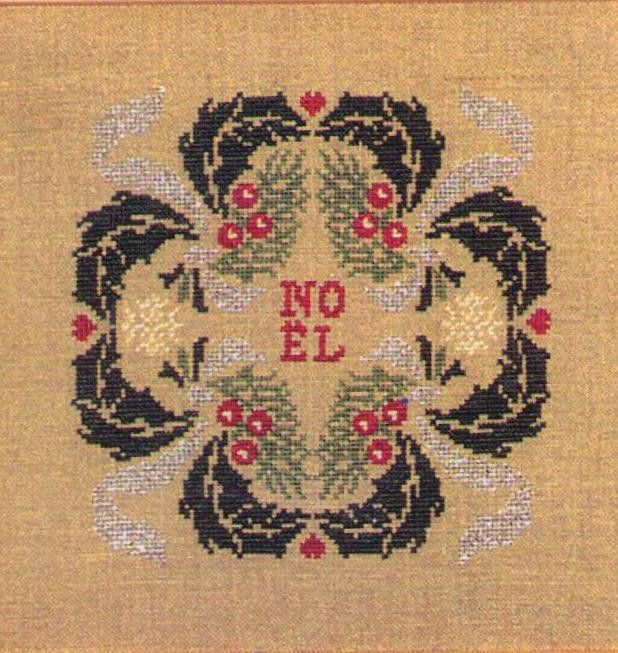 Noel 2001 – French Needlework Kits, Cross Stitch, Embroidery, Sophie Digard – The French Needle