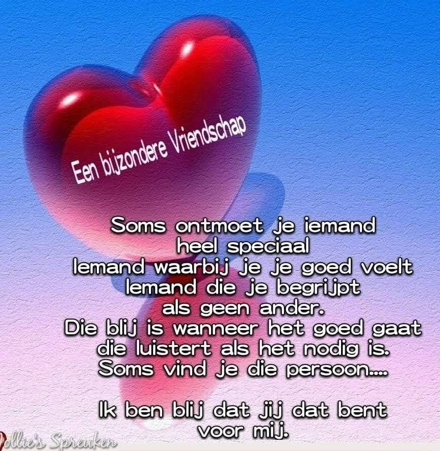 Liefde speciale vriendschap Liefde &