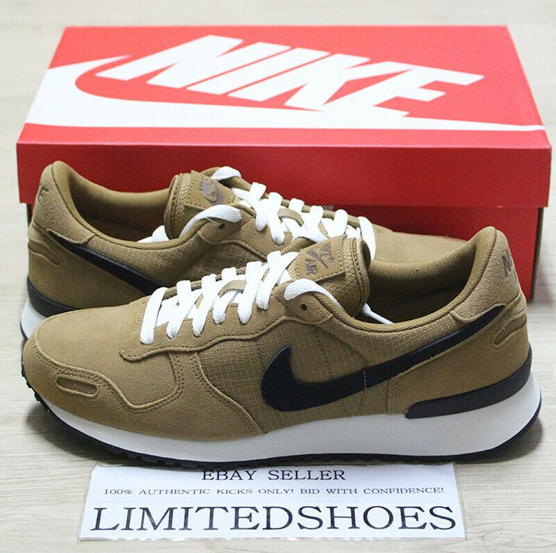 Nike Air Vrtx Vortex Leather Golden Beige Black Sail 918206 203 Mens Sneakers Fashion Clothing Shoes Accessorie Mens Sneakers Casual Nike Air Classic Shoes