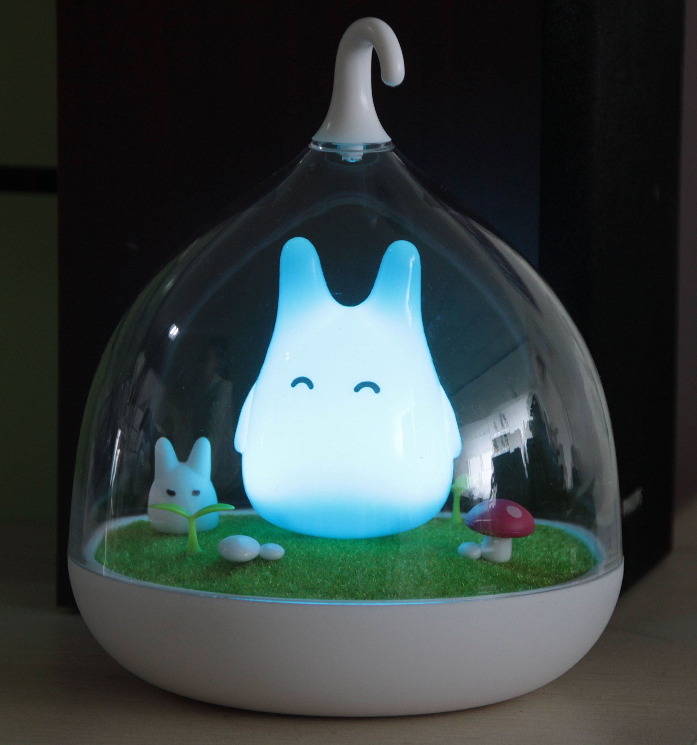 Night lights designs - Ohlees Children S Night Lights Hand Held Design Touch Sensor Vibration Birdcage Lamp Totoro Night