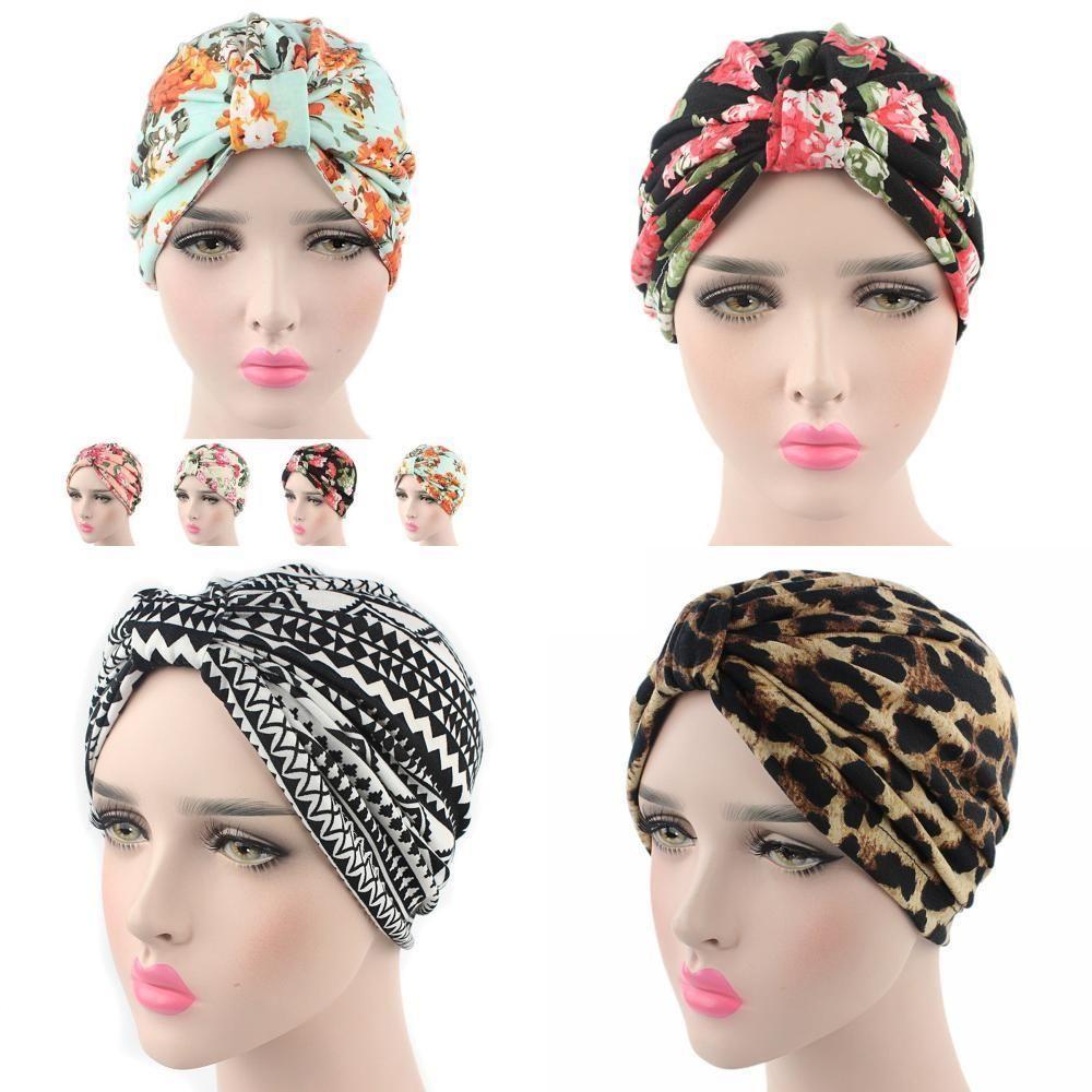 NEW Chic Women Bonnet Cancer Chemo Hijab Turban Cap Beanie Hat Scarf ...