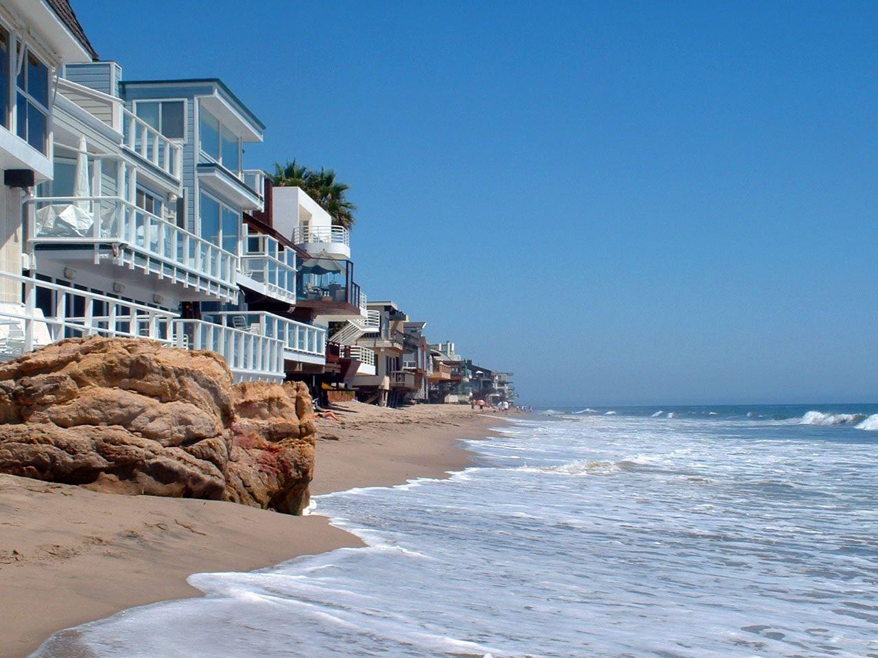 最も人気のある休暇先malibuusa Los Angeles California Usa Southern