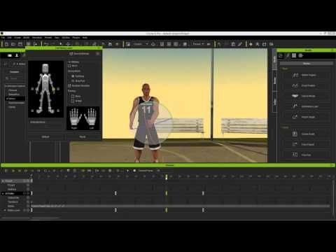 iClone 6 Tutorial - Kinect Motion Capture Editing - YouTube