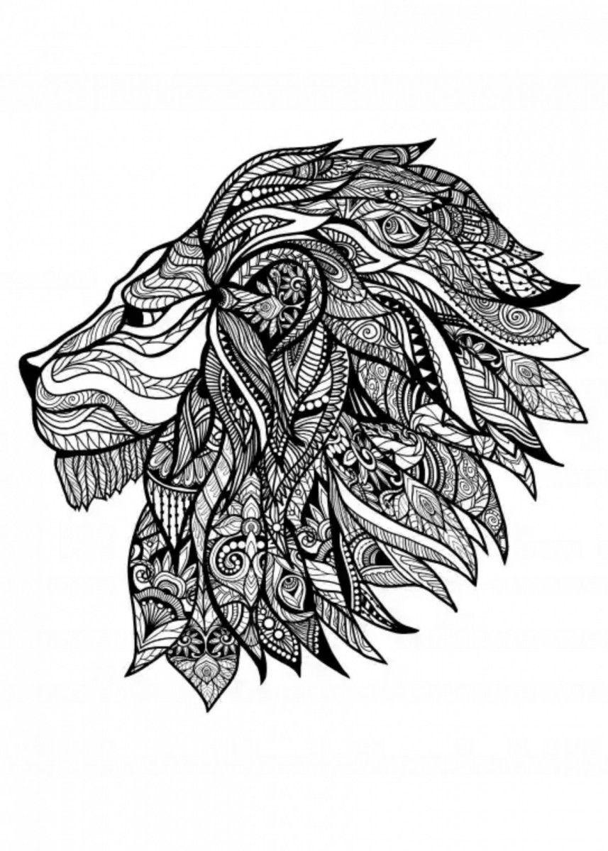 Lion Illustrationinspired By The Lion Movie Lion Mandala Lion Art Lion Mandala Design