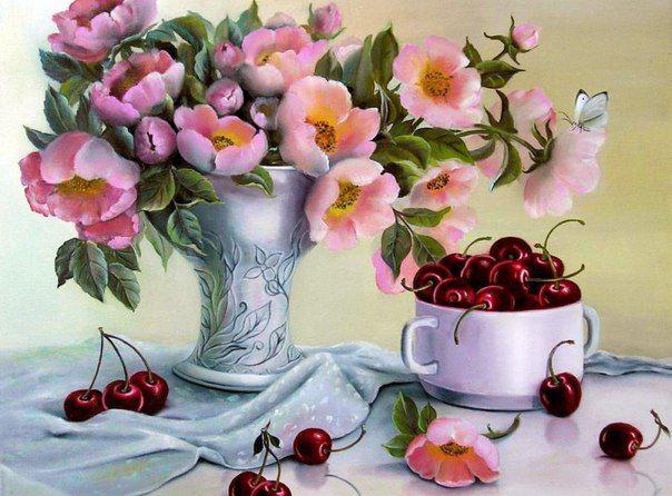 Новости | Цветочные картины, Цветочное искусство, Цветы