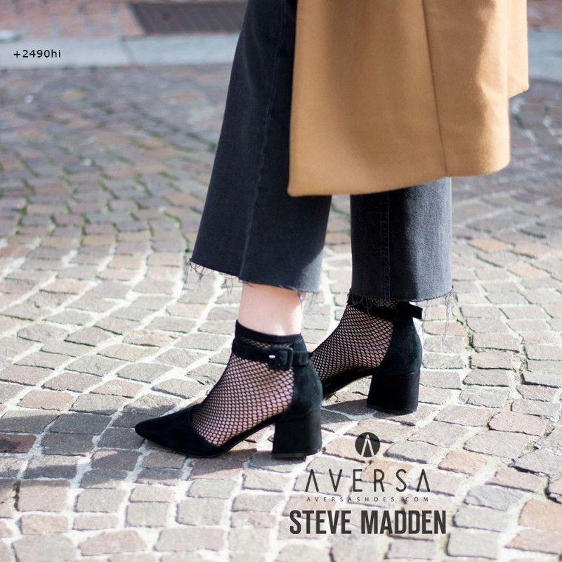 Steve Steve Steve Madden Dainna nero suede   Tacchi Outfit   Pinterest   69d8d6