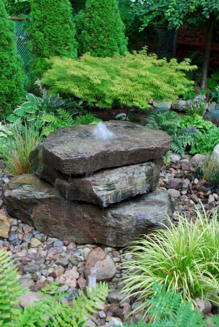 26+ Cool Water Features Ideas Low Budget #waterfeatures