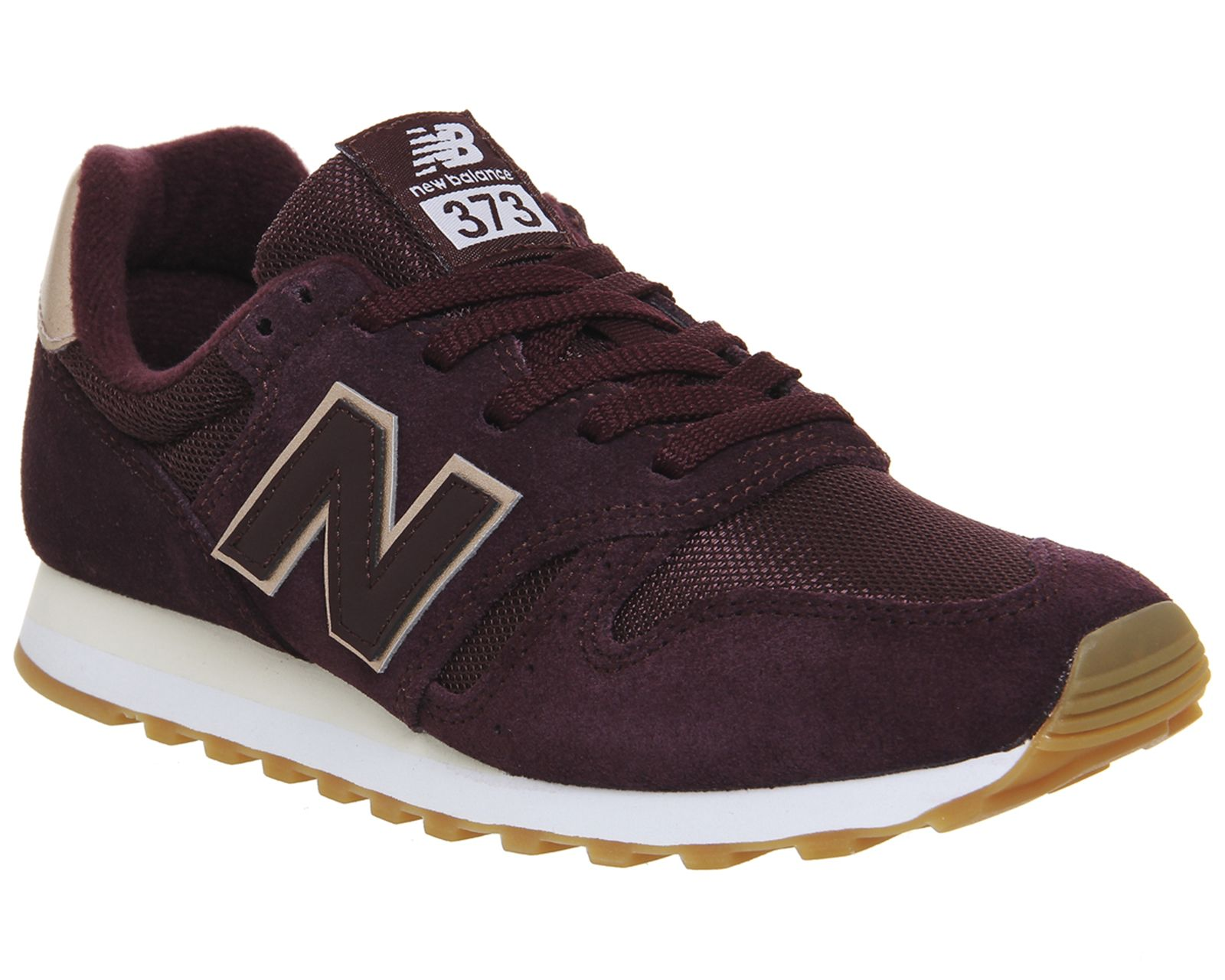 baskets new balance 373 marron