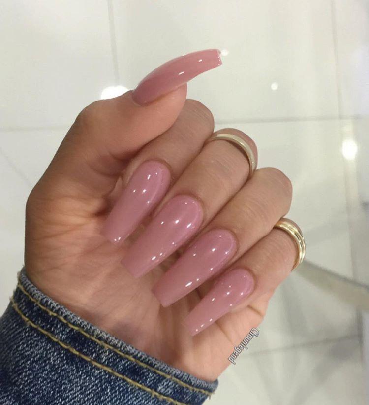 Classic Cute Acrylic Nails Pink Nails Cute Nails