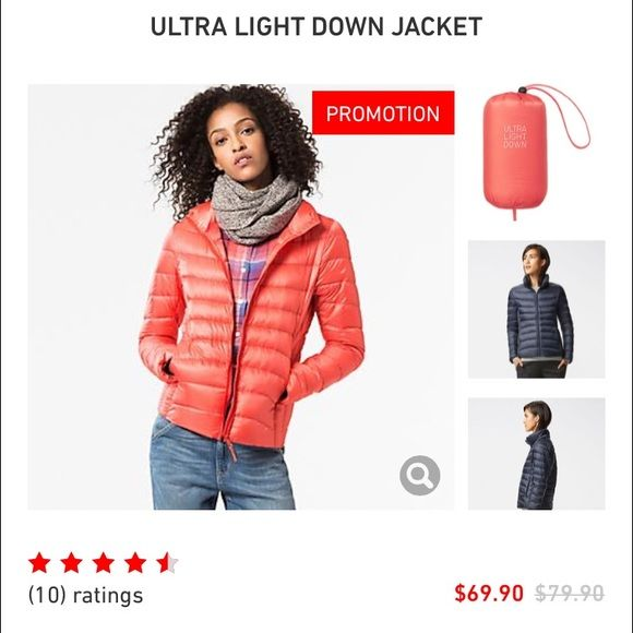 57a24259839 Green Uniqlo Ultra Light down jacket Uniqlo light green ultra light down  jacket. Made to layer under peacoat, heavier winter coat or just as a light  jacket.