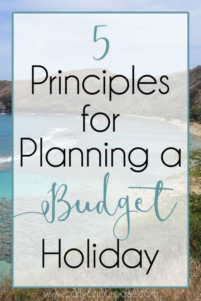 """These five principles can help you plan a holiday on the cheap! This is not another """"where to find the deals"""" article - this is how to MAKE the deals!"""