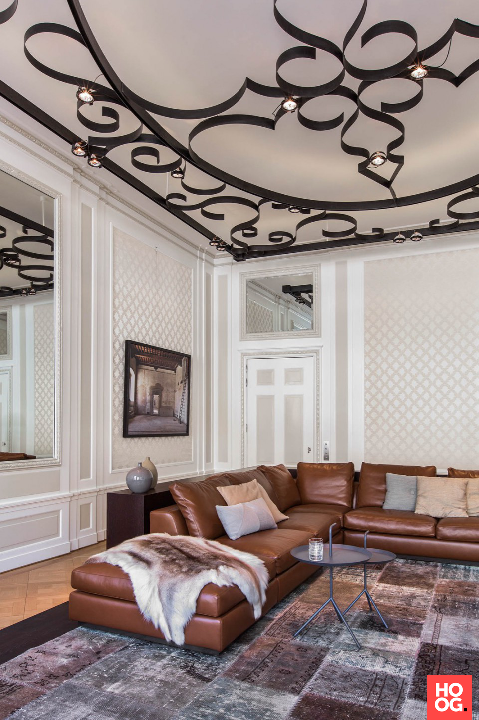 Design woonkamer met luxe meubels | interieur ideeën | woonkamer ...