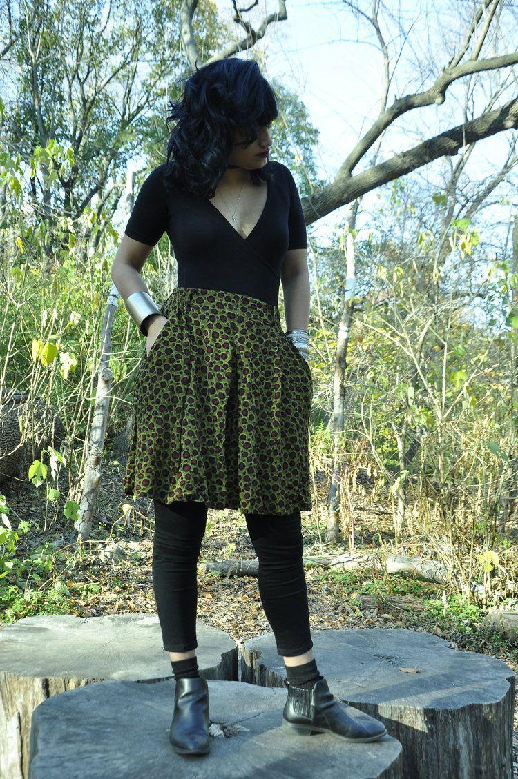 Anne Tjian for Kenar Patterned Skort 20.00 http://www.theearthwarrior.com/earth-store/anne-tjian-for-kenar-patterned-skort