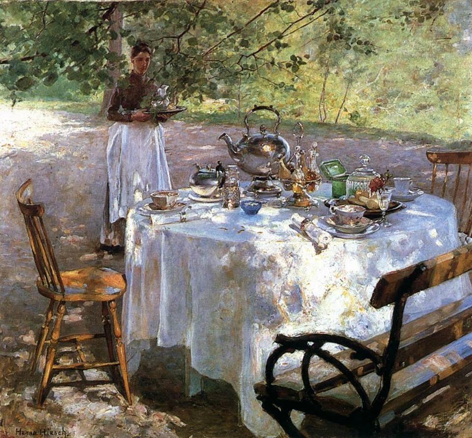 Hanna Pauli - PEQUENO ALMOÇO - 1887