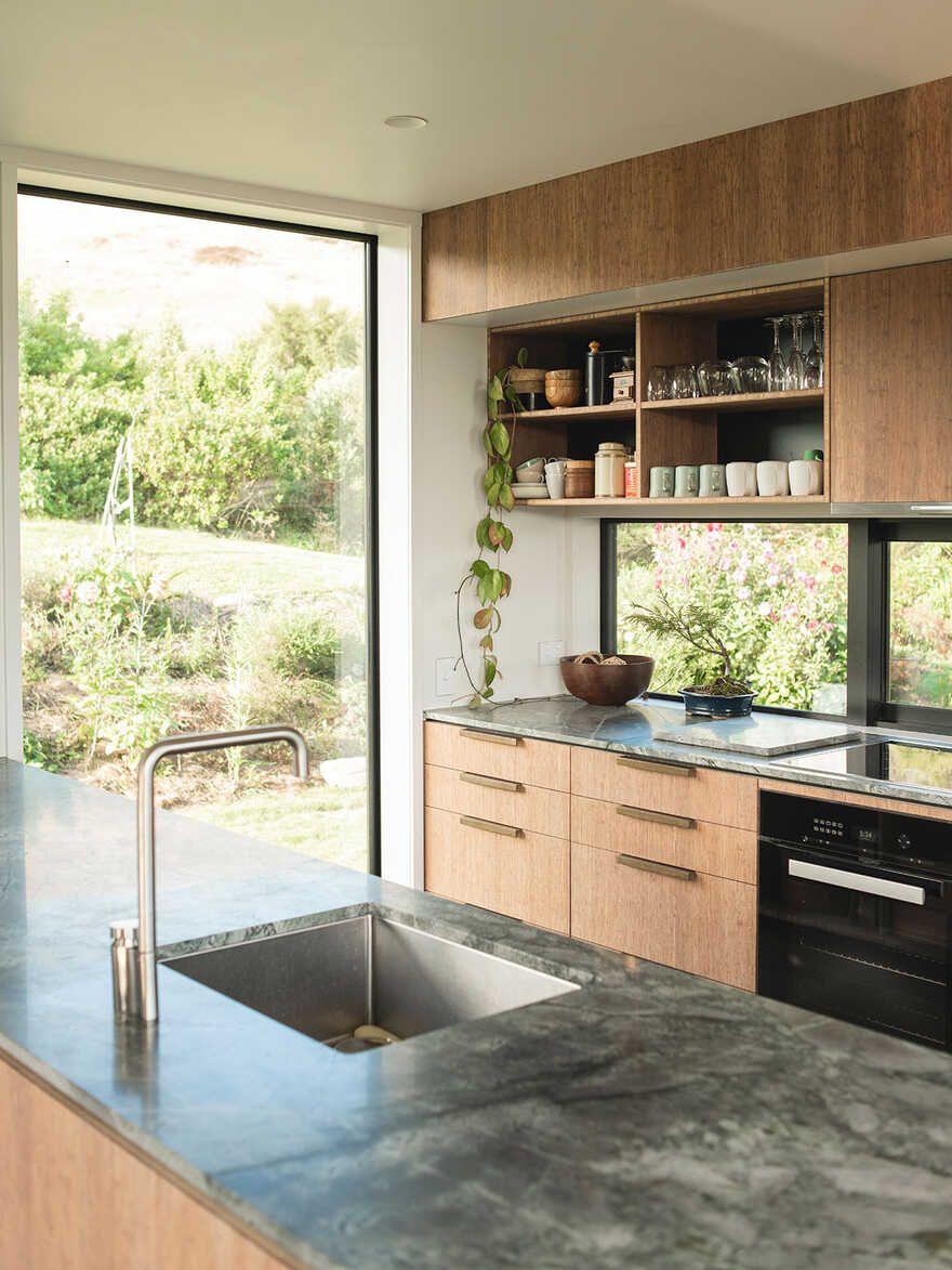 Huru House Japanese Modernism Meets New Zealand