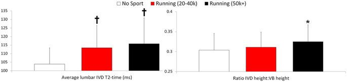 Running exercise strengthens the intervertebral disc