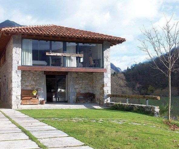 Fachadas de casas rusticas y modernas casa mia - Fachadas de casas rusticas ...