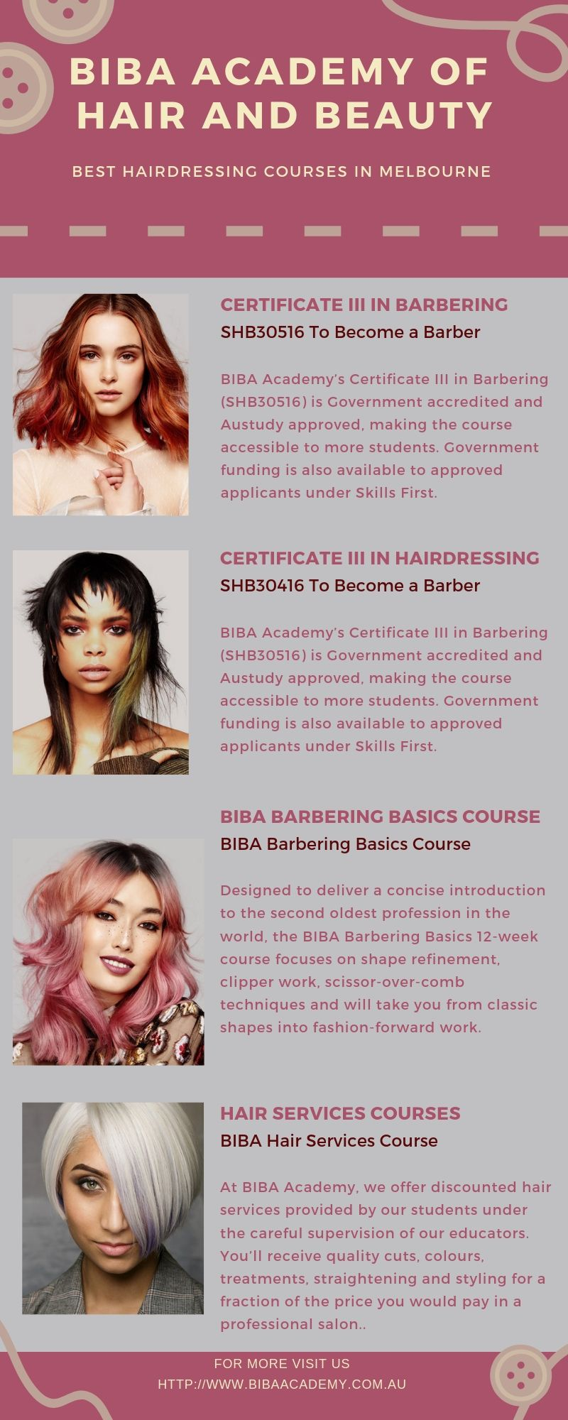 Best Hairdressing Academy In Melbourne Hairdresser Hairdressing Courses Hairdressing Apprenticeship