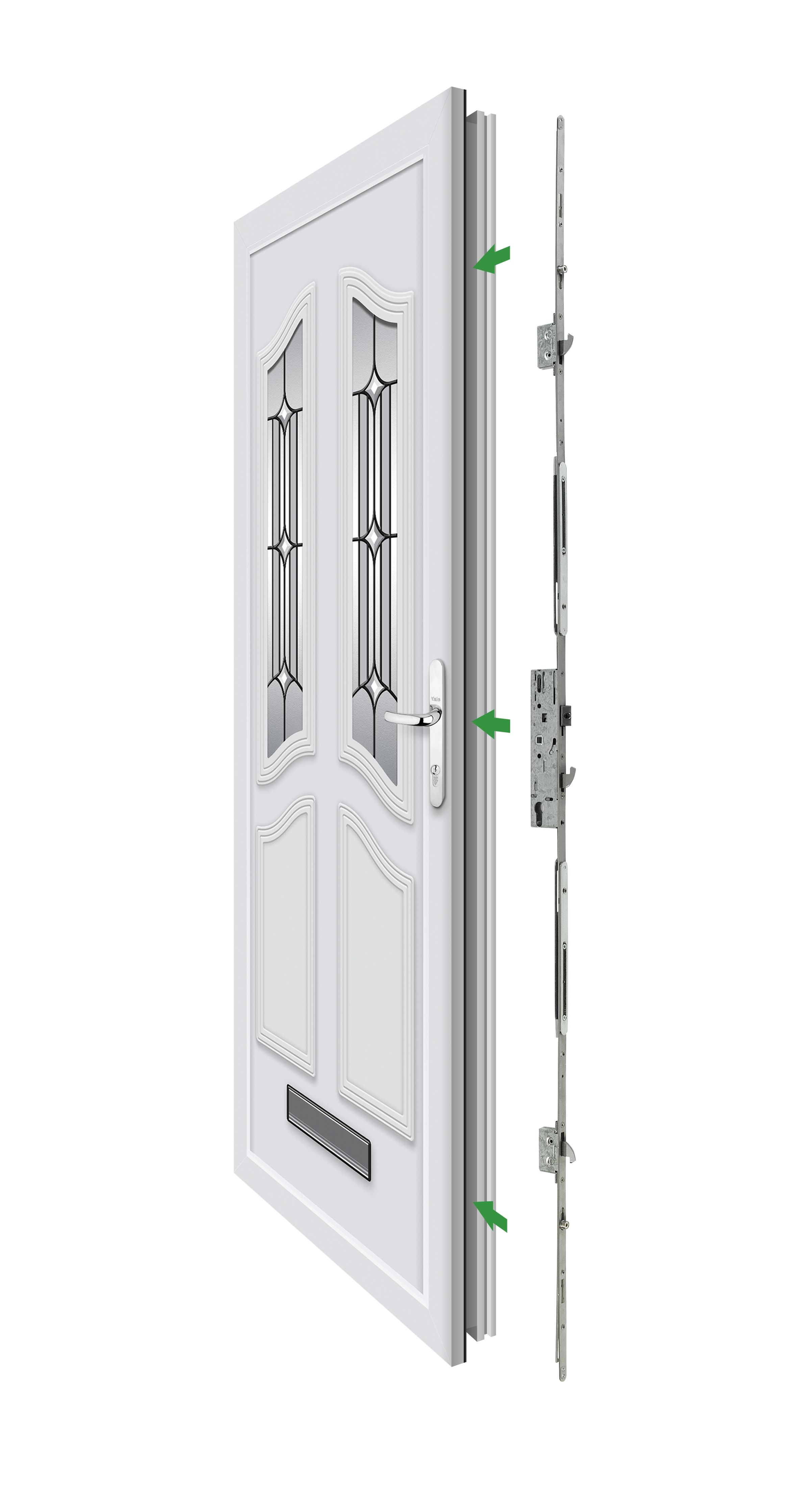 If you think your multipoint lock might need replacing before you go on your hols, check out our new Doormaster™ range. It allows you to replace your lock without having to go to the hassle and expense of replacing the entire door!