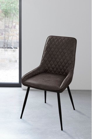 Hamilton Single Dining Chair With Black Legs In 2020 Fabric