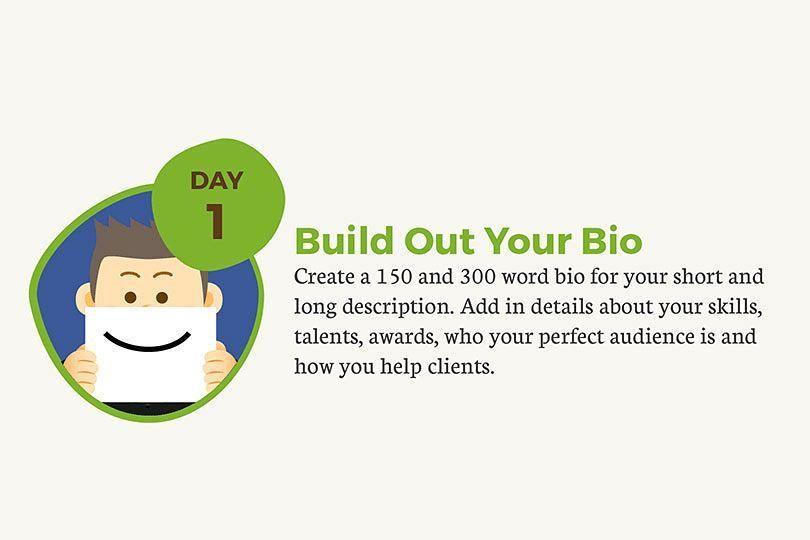 SocialGrowthHacks for Facebook Tip 1 Setup your profile Write - how to write a profile