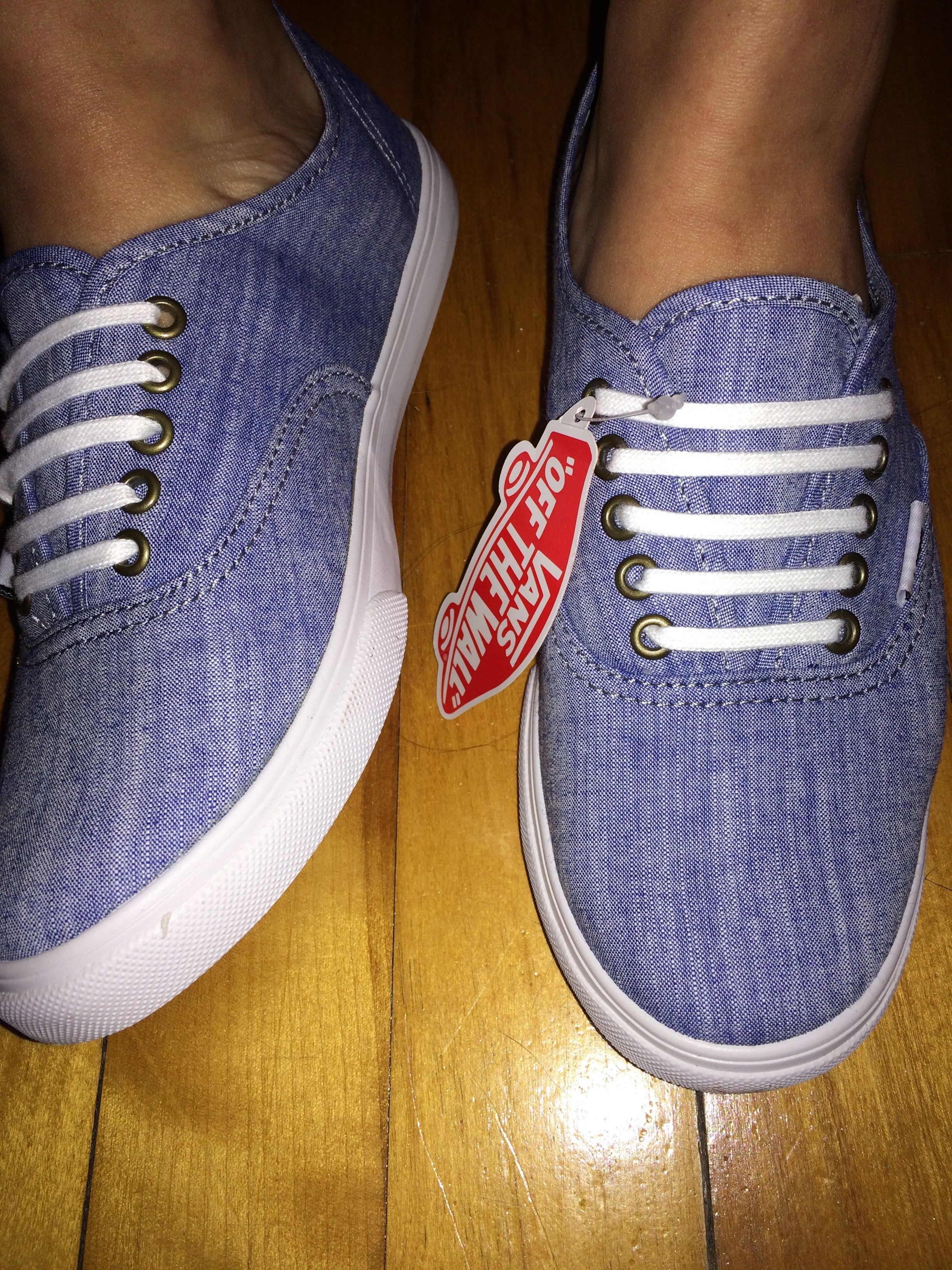 944b8b3be0e7 Vans - Floral Chambray Authentic Lo Pro