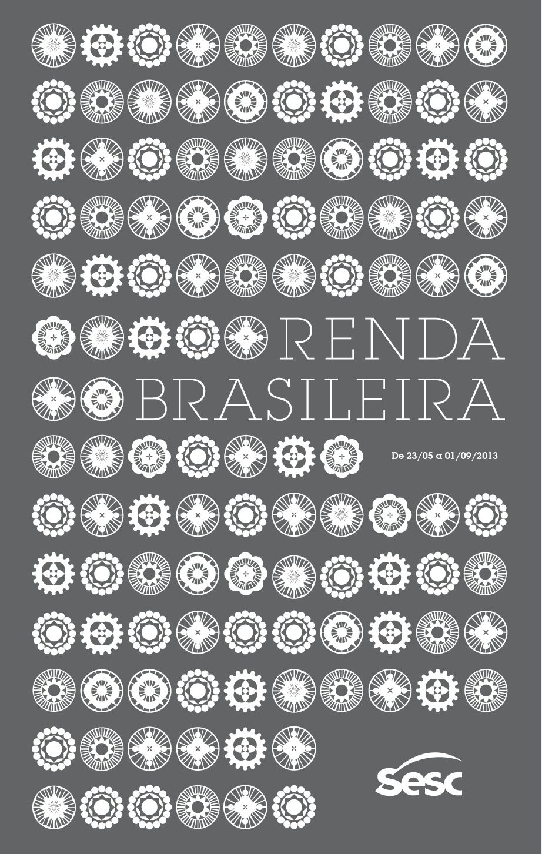 7e7a99fc133c EXPOSIÇÃO RENDA BRASILEIRA – 2013 - Capa do folheto   looms- weaving ...